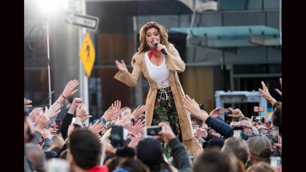 Shania Twain a mez ses fans