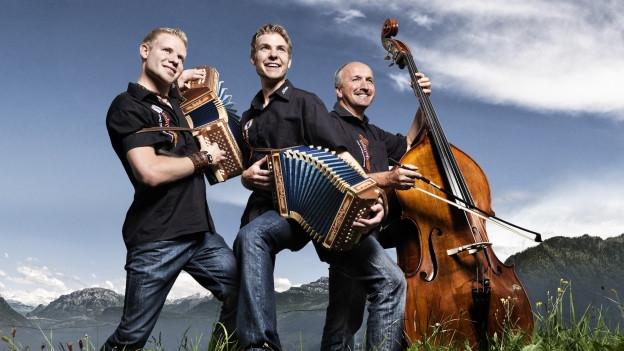 ina chapella cun Martin e Sylvan Vogel e cun Moritz Beugger