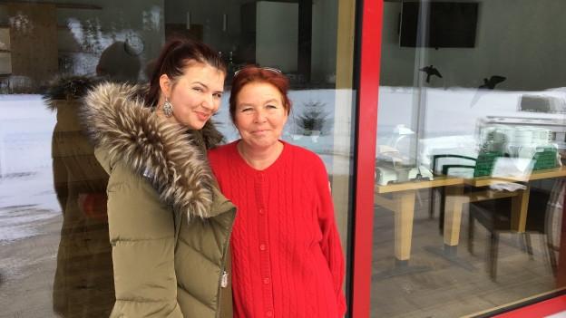 Lea e Cristina Schmid (da sanester).