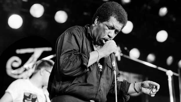Ben E. King durant in concert l'onn 1987