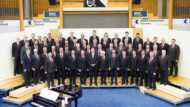 Ils 60 umens dal Chor viril Surses