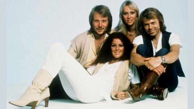 La gruppa ABBA l'onn 1999