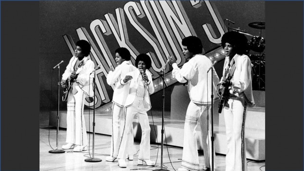 The Jackson Five durant in concert l'onn 1972