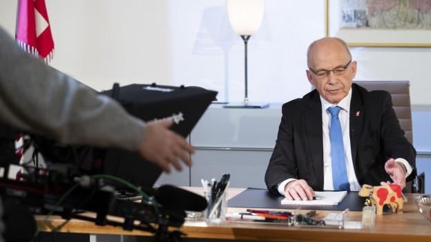 Ueli Maurer, il president dal Cussegl Federal 2019