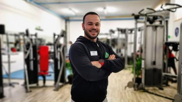 Eder Lala en ses center da fitness a Tusaun.