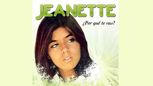 Cover da l'album Porque te vas da Jeanette