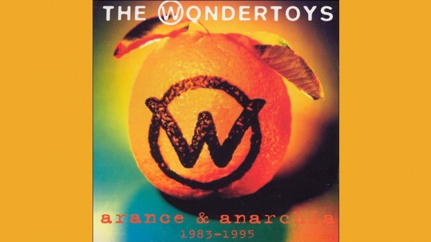 Cover da l'album arance & anarchia da Dominique & the Wondertoys