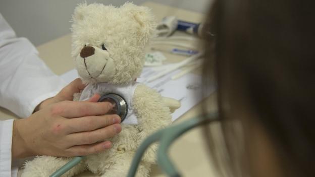 Clinicas d'uffants en plainas a causa dal «virus respiratoric Synzytial»