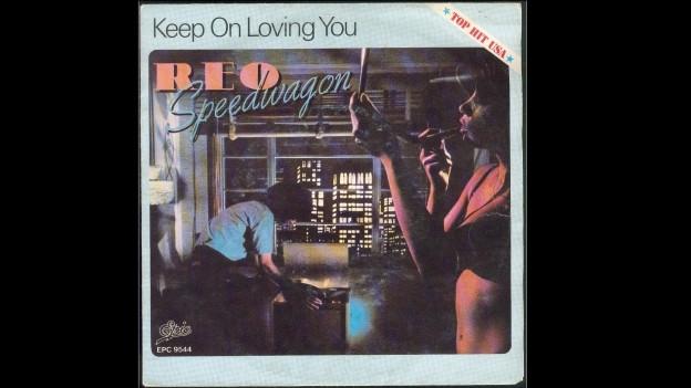 Cover da la single «Keep On Loving You» da REO Speedwagon