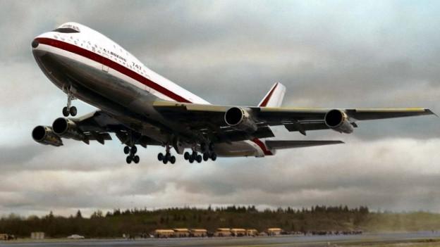 La Boeing 747 parta per ses emprim sgol avant 50 onns