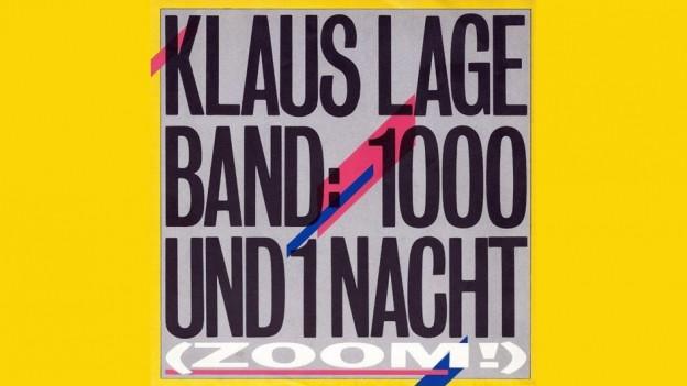 Cover da la single «1001 Nacht» da Klaus Lage
