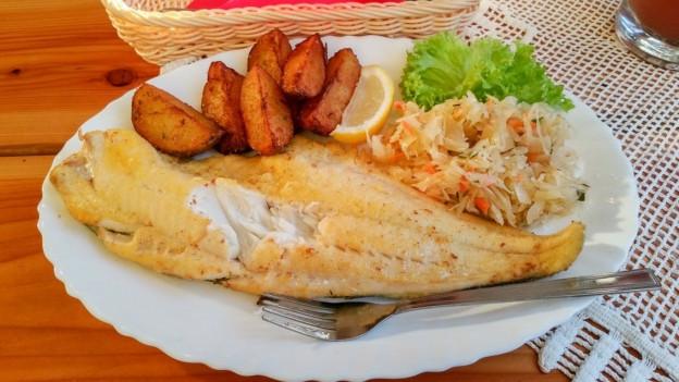 Bacalhau e batatas. (maletg da simbol)
