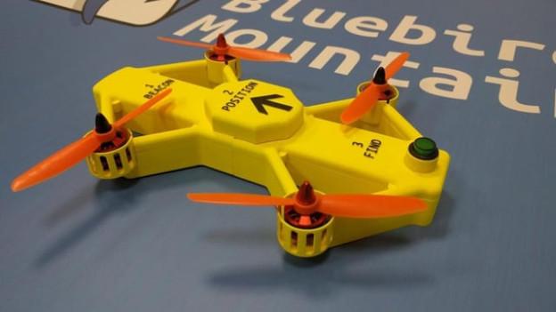 La drona Powderbee