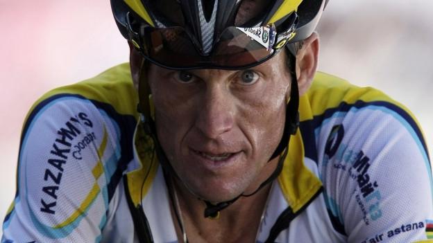 Lance Armstrong - in num ch'è collià cun doping.