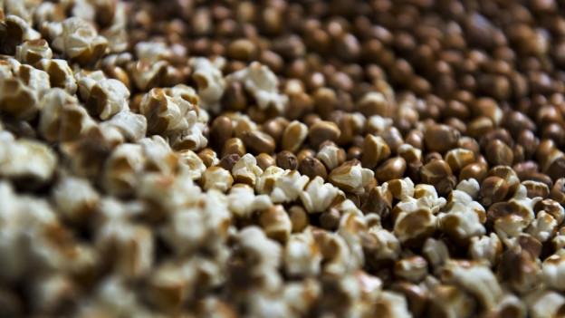 La farina vegn quasi fatga or da popcorn.