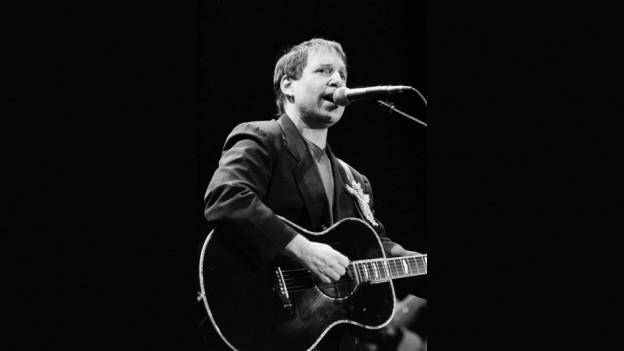Paul Simon durant in concert l'onn 1991