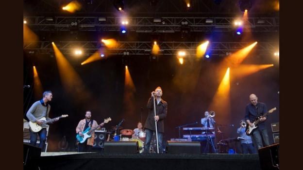 Züri West durant in concert l'onn 2012