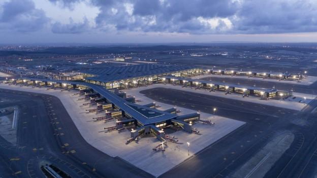 Ina vista sin il nov Airport Istanbul