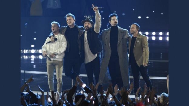 Ils Backstreet Boys durant in concert l'onn 2011