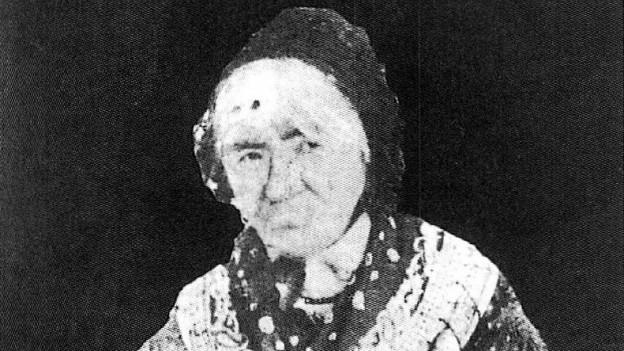 fotografia da l'eroxa da Domat, enturn l'onn 1850