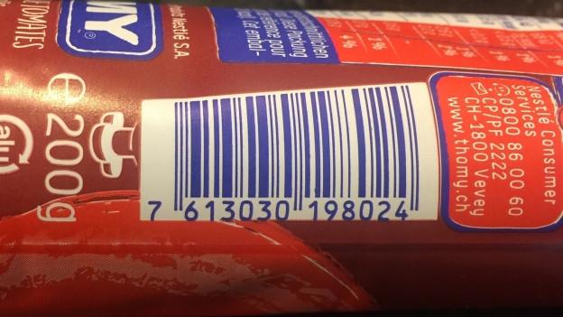 Il code da stritgs tradescha las ingredienzas.