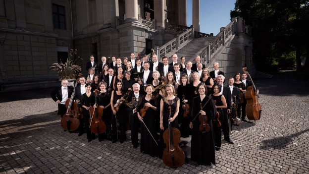 L'orchester Musikkollegium Winterthur.