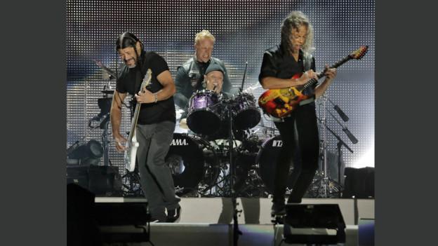 Metallica durant in concert l'onn 2017
