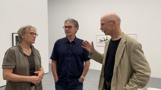 Rita Killias, Manfred Gross e Peter Egloff.