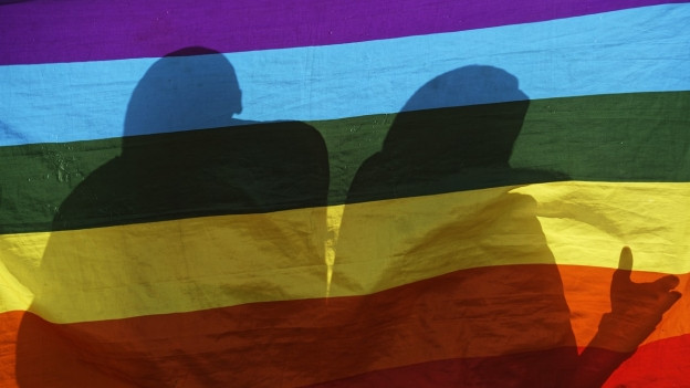 La bandiera da l'artg s. Martin vegn savens duvrà da la cuminanza dals LGBTQs.