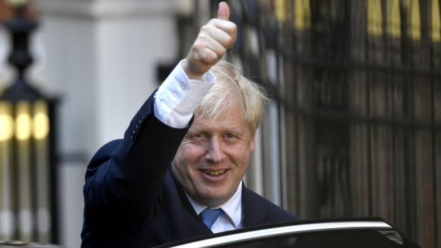 Boris Johnson suenter sia elecziun sco primminister britannic