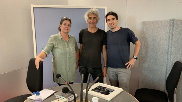 Da sen.: Esther Krättli, Clà Riatsch, Martin Camenisch.