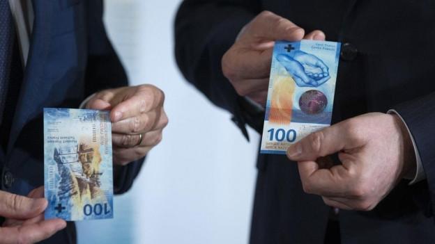 La nova bancanota da 100