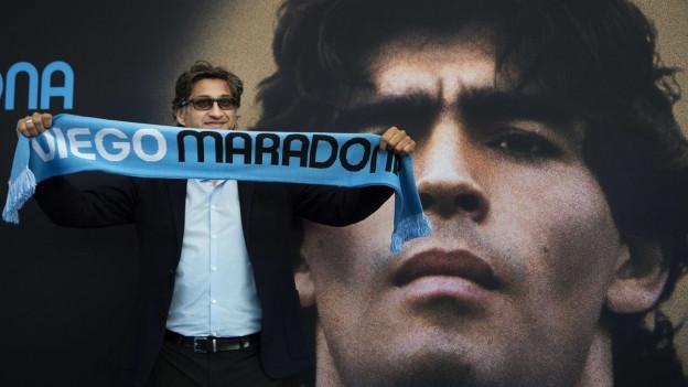Il reschissur britannic Asiv Kapadia ha preschentà il film «Diego Maradona».