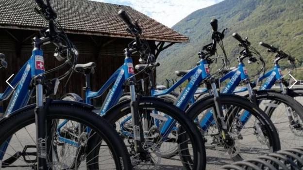 E-bike sharing en Valle di Blenio.