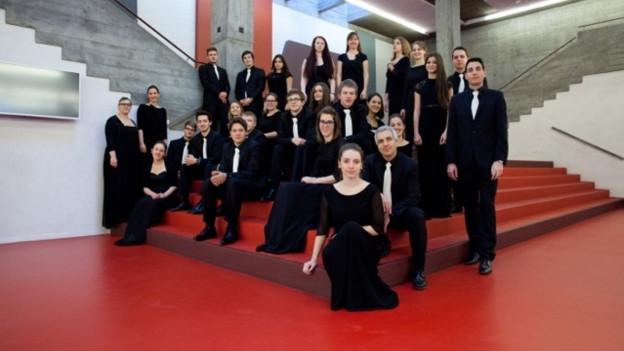 L'ensemble vocal inCantanti è in dals chors svizzers en la rangaziun d'Interkultur.
