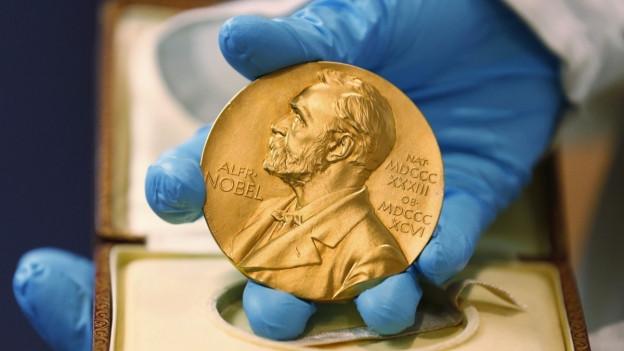 La medaglia dal Premi Nobel.