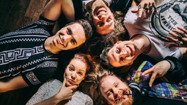 Ina fotografia da la band die Draufgänger