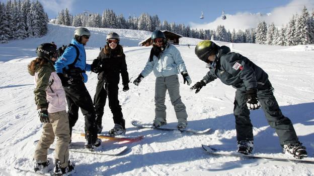 Champs da skis.