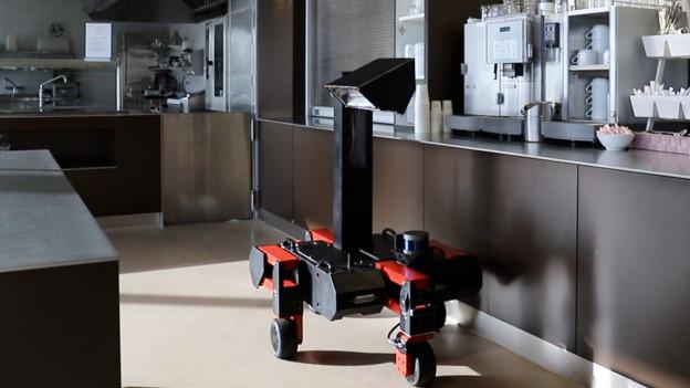 Il roboter da dischinfecziun ROVéo UVC