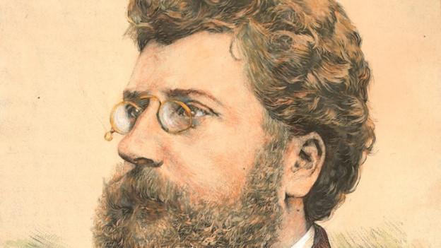 Il cumponist franzos Georges Bizet (1838 - 1875)