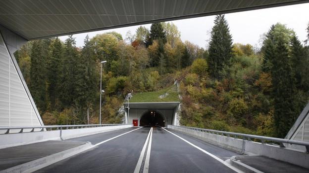 Il tunnel a Flem.