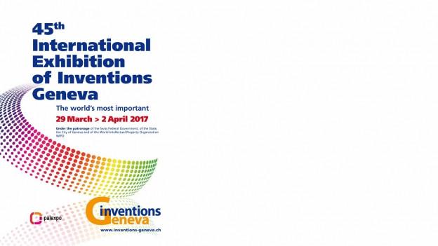 Flyer da l'exposiziun da las invenziuns a Genevra