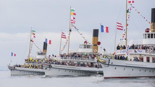 La «parade navale» sin il Lai da Genevra