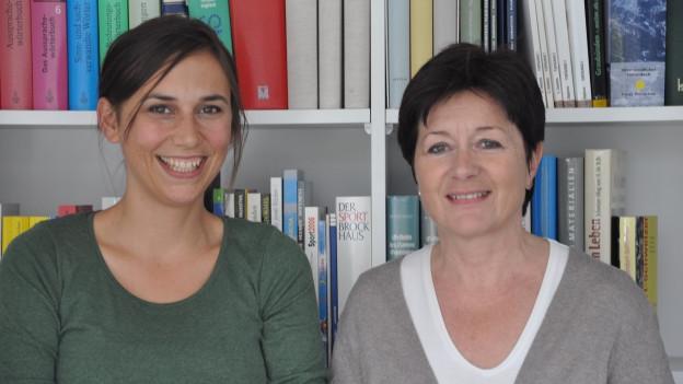 Silvana Derungs ed Anna-Alice Dazzi.