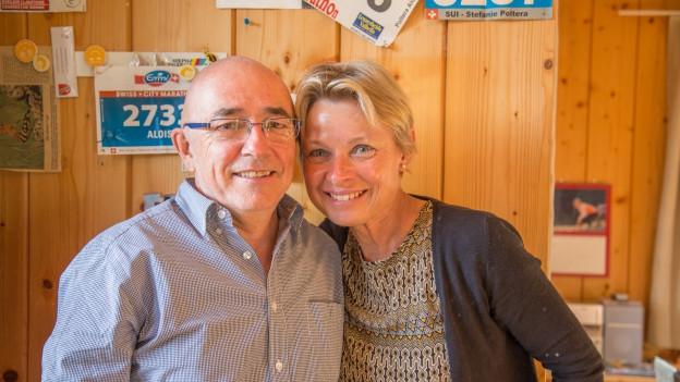 Stefanie (56) ed Alois (63) Poltéra-Zarn