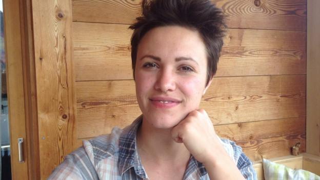 Rebecca Clopath cuschina tut, e quai cun success.