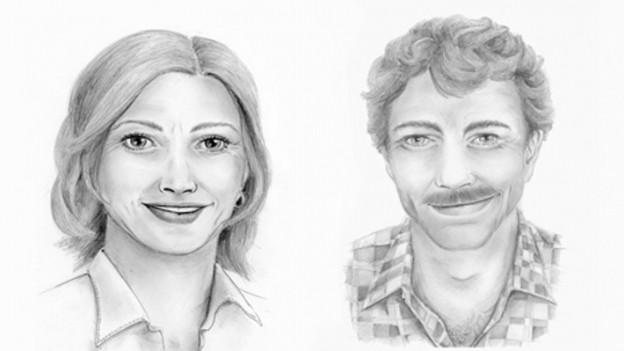 Ernesta e Martin Caflisch.