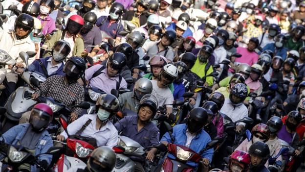 massa glieud a Taiwan