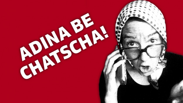 Il logo dad Uorschla Cranzla cun la scritgira: Adina be chatscha!