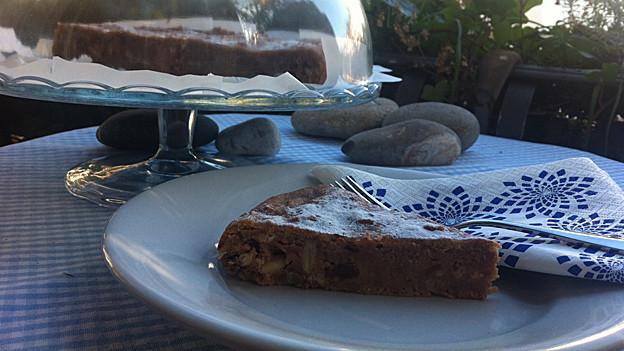 Aus altem Brot und trockenen Grittibenzen gibt es «Torta di pane».